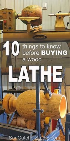 Wood lathe tools, accessories, and tips for mini and bowl woodturning lathes. Includes information on swing, live center, and buying a wood lathe that is for sale.