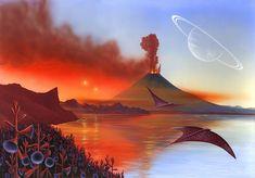 Alien Landscape, Artwork Photograph  - Alien Landscape, Artwork Fine Art Print