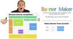 Banner Maker. Para diseñar banners gratuitos.