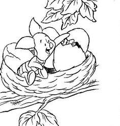 coloring page Winnie de Pooh and Piglet Kids-n-Fun