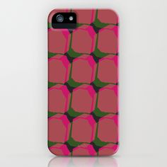 Pink & Green iPhone Case by Georgiana Paraschiv