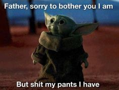 Baby Yoda Memes Just Might Be the Best of the Year Images) - Funny Gallery Star Wars Meme, Star Wars Witze, Funny Videos, Stupid Funny Memes, Funny Relatable Memes, Hilarious, Yoda Pictures, Funny Pictures, Memes Humor