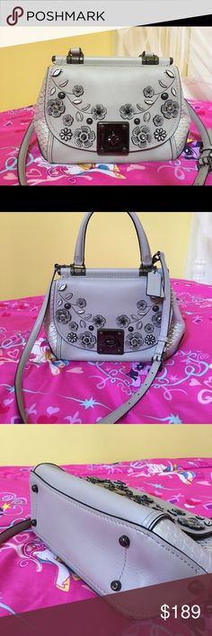 c6a02a6d0633b Limited edition coach Like new. Great condition. Coach Bags Crossbody Bags