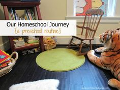 Montessori Preschool Homeschool Routine