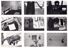 Sophie Calle, The Hotel, 1981.