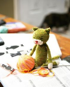 On my #Crochet project list is this little #Amineko Cat. I find this blog so inspirational when I'm stuck in a creative rut.