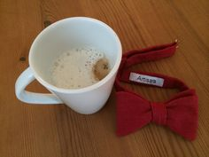 Enjoy your morning soy cappuccino before getting ready for work. www.artisara.com