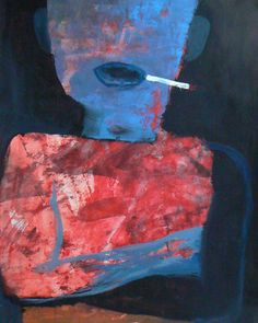 "Saatchi Online Artist Egor Badin; Painting, ""Neighbor"" #art"