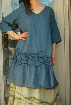 Robe tunique pétale par sarahclemensclothing sur Etsy