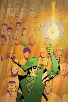 Green Arrow by Marcos Martin