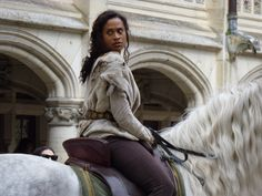 Guinevere played by Angel Coulby
