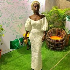 Style Inspiration: Nigerian Lace Outfits Aso-ebi dresses African Wedding Dress at Diyanu African fashion Aso Ebi Lace Styles, African Lace Styles, Lace Dress Styles, African Lace Dresses, African Wedding Dress, Latest African Fashion Dresses, African Dresses For Women, Dress Wedding, Ankara Styles