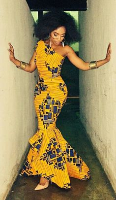 ♡African Print in Fashion #ad
