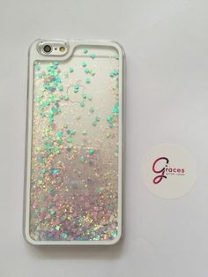 Pink and Purple Liquid Heart moving glitter iPhone 6+ 6 plus, 6, 5s, 5c, 5, 4s, 4 phone case Samsung S3, S4, S5, Note 4 phone case sand