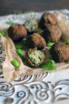 Soy Bean Falafels | heneedsfood