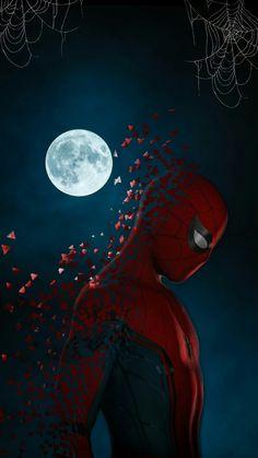 Spider Man aesthetic wallpaper 💚💚