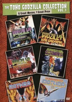 The Toho Godzilla Collection Vol. 1 [4 Discs] [DVD]