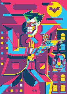 Character Art, Character Design, In The Pale Moonlight, Pop Art Illustration, Illustrations, Comic Villains, I Am Batman, Joker Art, Batman Beyond