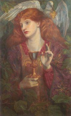 The Holy Grail -  Dante Gabriel Rossetti