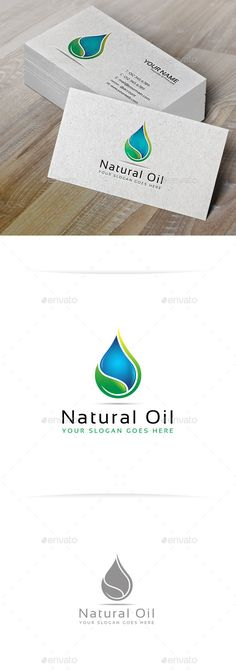 Natural Oil Logo Template — Vector EPS #green #nature • Available here → https://graphicriver.net/item/natural-oil-logo-template/10200387?ref=pxcr