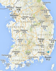 Map of SouthKorea