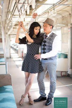 Philippine Fine Art Wedding Photographer Engagements Debuts Christening by Pol Espino Dan + Cathy PNR Prenup + Wedding Photo SDE Brogues, Engagements, Christening, Wedding Photos, Photoshoot, Train, Fine Art, Beautiful