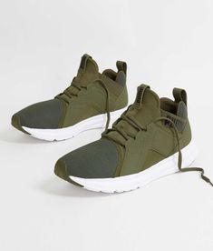 Puma Enzo Shoe - Men's Shoes in Olive Night Puma   Buckle