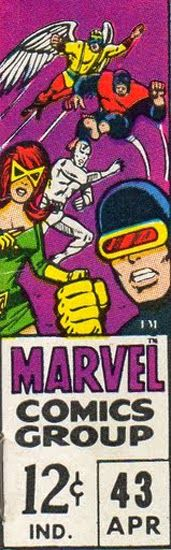 The Dork Review: Rob's Room: Marvel's Corner Box Art of the 1960s