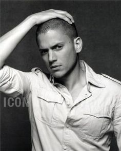 Wentworth Miller - possible Christian Grey?!?  I would say YES!