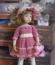 """~* CHERISH ME*~ for 13"""" Dianna Effner Studio's Little Darlings Dolls. Sold 1/5/14 for $41.99."""