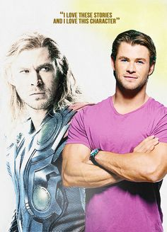 Avengers and their characters: Chris Hemsworth