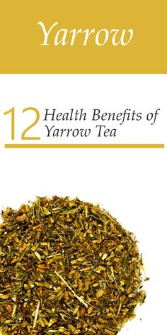 12 Health Benefits of Yarrow Tea. This medicinal herb is used in many cold remedies as a powerful expectorant and analgesic. Yarrow opens the pores, soothes inflammation, purifies the blood and helping improve the flow of chi. Yarrow relaxes peripheral bloods vessels, thereby enhancing the circulation of blood. Topically, Yarrow is excellent at promoting tissue repair.