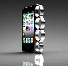 Knuckle Bumper Case for iPhone [ you can buy it here ]