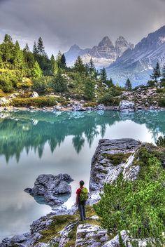 Lago del Sorapis -  #Ladinia #Dolomites