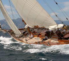 Classic 1936 Sailing Yacht Eilean