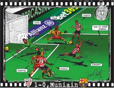 Athletic Club, 1 - FC Barcelona, 0 - Iker Muniain, min.70