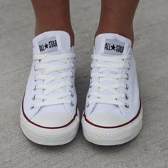 you can never go wrong with white converse