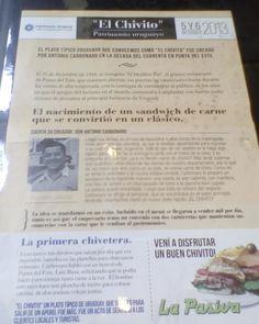El chivito es un plato típico de #Uruguay patrimonio nacional