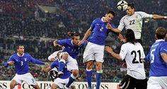Na Terça-feira, 24 de Junho de 2014 a seleção da Itália enfrenta a seleção de Uruguai em um dos Jogos da Copa do Mundo 2014 no Brasil. O jogo acontece na Arena das Dunas, em Natal - Rio Grande do Norte às 13h (horário de Brasília) #copa2014