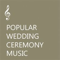 Non Traditional Wedding Ceremony Music Bridal Processionals Recessionals Bride Entrance Bridesmaid Prelude Crain Records