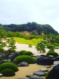 Adachi Museum of Art, Yasugi, Shimane. 足立美術館, 島根県安来市, 日本