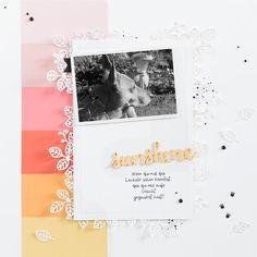 Ein farbenfrohes Layout, welches mit den Produkten von Stampin' Up! gestaltet wurde und zusätzlich dazu meine Lieblings-Jahreszeit den Sommer repräsentiert.
