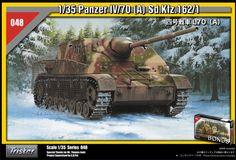 Maquette - Kit Panzer IV/70 [A] Sd.Kfz. 162/1 - TRISTAR 35048