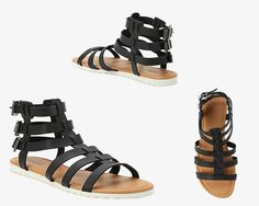 Torrid's Wide Width Gladiator Sandals | 31 Legitimately Cute Shoes For Ladies With Wide Feet