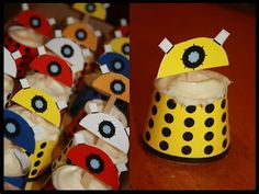 Dr. Who Dalek cupcakes! Make your own!