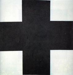 "Kazimir Malevich, Black Cross,42""x42"" (1923)   Russian State Museum, St. Petersburg, Russia"
