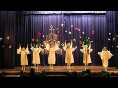 Christmas Dance, Christmas Door Decorations, Bridesmaid Dresses, Wedding Dresses, Nursery, Youtube, Winter Clothes, Xmas, Christmas Music