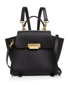 ZAC Zac Posen Eartha Iconic Convertible Backpack Handbags – Bloomingdale's – Purses And Handbags Boho Satchel Backpack, Satchel Handbags, Black Backpack, Purses And Handbags, Cheap Handbags, Ladies Handbags, Ladies Bags, Backpack Straps, Handbags Online