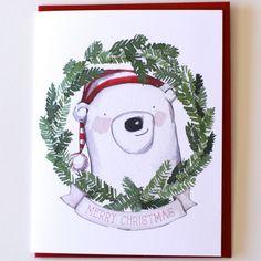 Polar Bear Merry Christmas Holiday Box Set – Paper Luxe