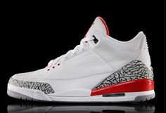 online retailer dcffe b4ccc Air Jordan 3 Katrina White Cement Grey Black Fire Red 136064 116 Basketball  Shoe For Sale Big Boys Youth Jeunesse Shoes
